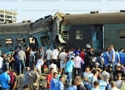 """""""الدستوري الاجتماعي"""" يطالب بمحاسبة المسؤولين عن حادث قطاري الإسكندرية"""