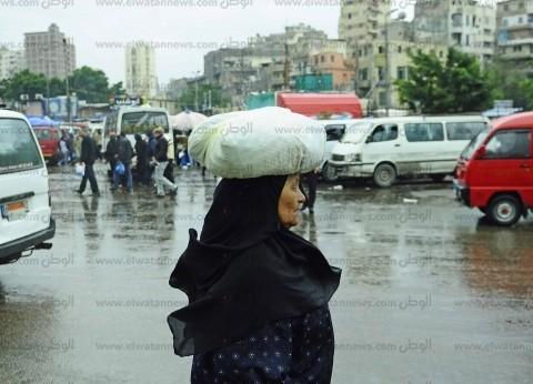 الأمطار تُغرق شوارع كفر الشيخ وغلق بوغاز البرلس
