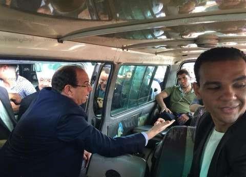 محافظة القاهرة تواصل حملاتها لمراقبة تطبيقة التعريفة الجديدة بالمواقف