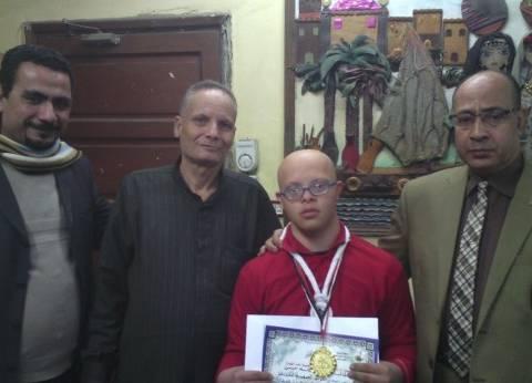 """طلاب المدرسة الفكرية بـ""""غرب شبرا"""" الرابع على الجمهورية في الكشافة لذوي الإعاقة"""
