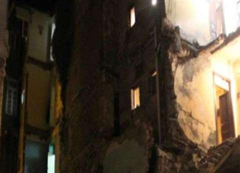 مصرع سيدة وإصابة 3 أطفال في انهيار منزل بالفيوم