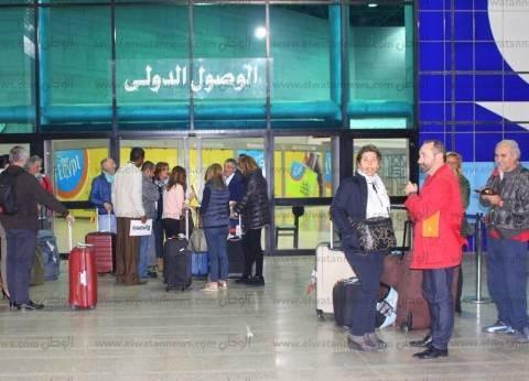 بالصور| مطار الأقصر يستقبل أول رحلة مباشرة من مدريد بعد توقف لمدة عام