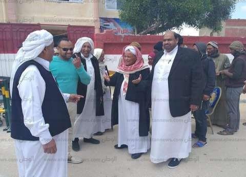 """""""المصريين الأحرار"""" بمطروح: تزايد إقبال المواطنين على لجان الاستفتاء"""