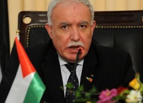 """رياض المالكي: اعتراف إيطاليا بدولة فلسطين """"مسألة وقت"""""""