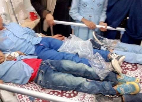 """""""الوطن"""" تنشر أسماء التلاميذ المصابين باشتباه تسمم في إحدى مدارس رأس غارب"""