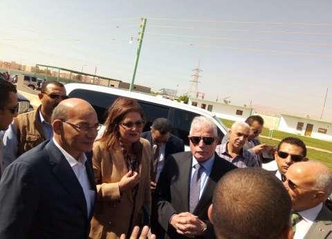 وزير الزراعة: القيادة السياسية حريصة على تنمية سيناء