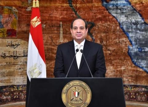 السيسي يشكر المصريين: الشعب أبهر العالم بالمشاركة في الاستفتاء