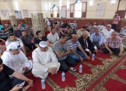 وفد من دولة الإمارات يفتتح مسجد الجوابر بالدقهلية