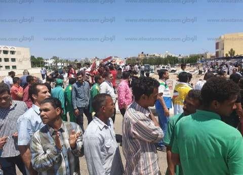 """""""تعليم جنوب سيناء"""" تنظم مسيرات جماهيرية للمشاركة في الاستفتاء"""