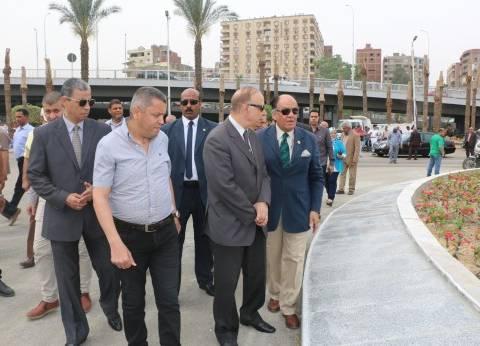 محافظ القاهرة يطالب بسرعة انتهاء الدراسة المرورية لميدان سراي القبة