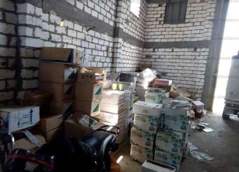 التحفظ على أدوية بيطرية فاسدة ضبطت داخل مصنع في المنيا
