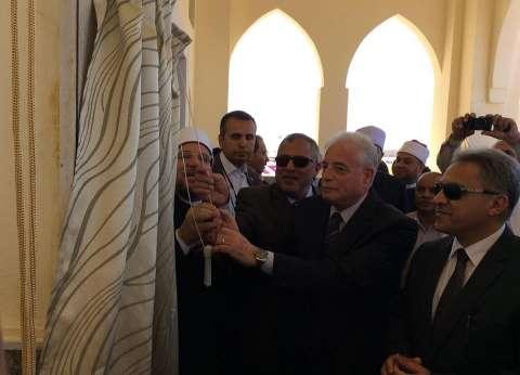 وزير الأوقاف ومحافظ جنوب سيناء يفتتحان مسجد الزهراء بطور سيناء