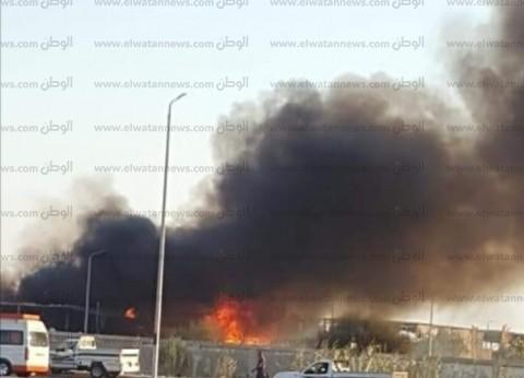 السيطرة على حريق بمنزل داخل أرض زراعية في بني سويف