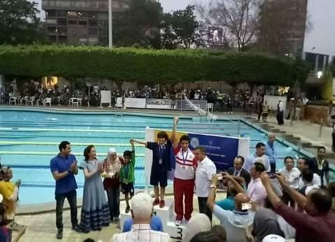"""""""دولفين"""" لأطفال التوحد يحصل على 5 ميداليات في بطولة هليوبوليس الدولية"""