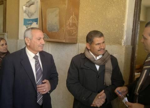 ضبط مخالفات داخل هيئات حكومية بقرية الحيبة في بني سويف