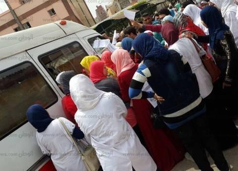 """""""الوطن"""" ترصد ردود أفعال أقارب شهداء تفجير كنيسة طنطا"""
