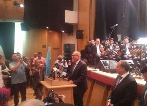 وزير الرياضة يشهد حفل نقابة الصحفيين بمناسبة ذكرى انتصارات أكتوبر