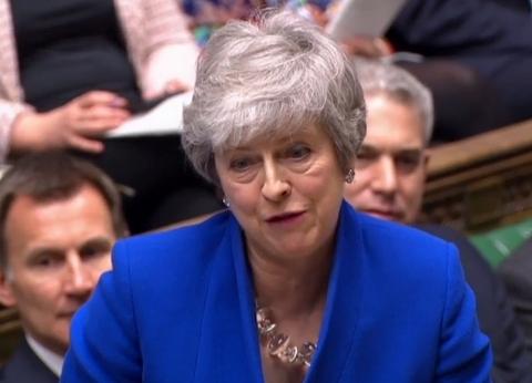 """رئيسة الوزراء البريطانية تدين الاعتداءات """"المروعة"""" في سريلانكا"""