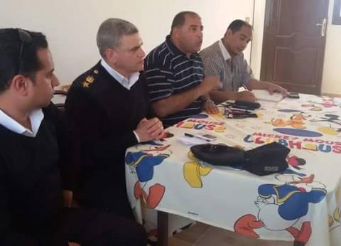 رئيس مدينة مرسى علم يناقش الاستعداد للانتخابات الرئاسية
