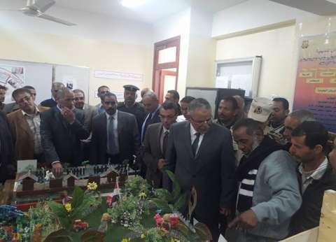 مدير أمن قنا يفتتح وحدة مرور بني مزار