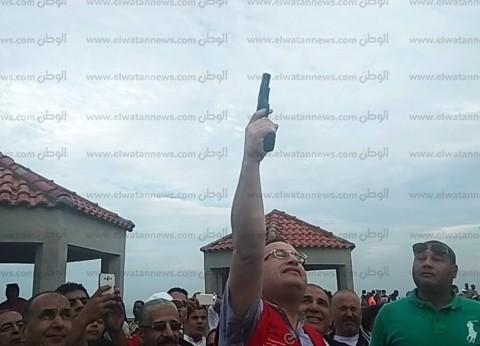 """محافظ الإسكندرية يطلق شارة بدء المهرجان الرياضي """"اجري لصحتك"""""""