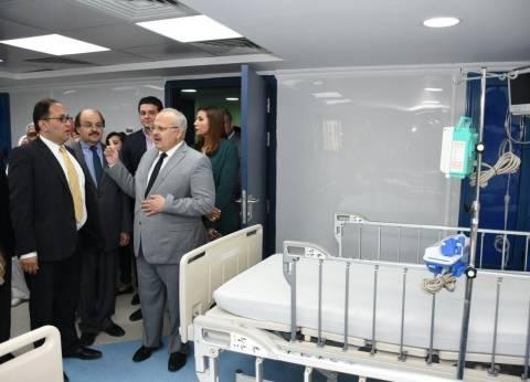 رئيس جامعة القاهرة يعلن الخطة الزمنية لتطوير المستشفيات الجامعية
