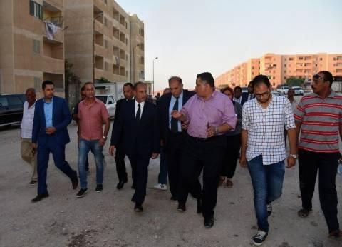 محافظ الإسكندرية يتفقد وحدات إسكان الشباب المدعمة بالكيلو 26