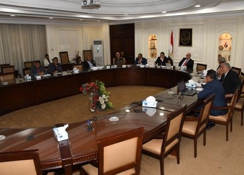 """وزير الإسكان ومحافظ الإسكندرية يتابعان تنفيذ """"تطوير محور المحمودية"""""""