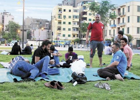 موائد الغلابة فى الجناين العامة: رمضان بيحب اللمة