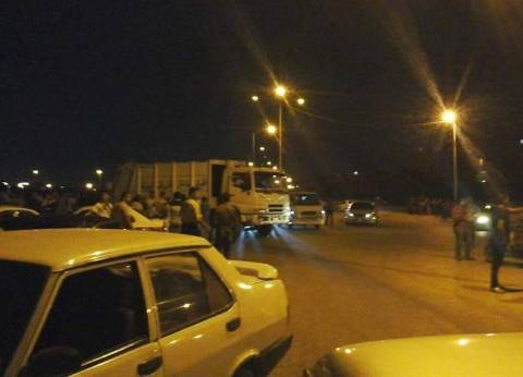 """مصرع شخص وإصابة آخر في حادث تصادم بطريق """"الحسينية - صان الحجر"""""""