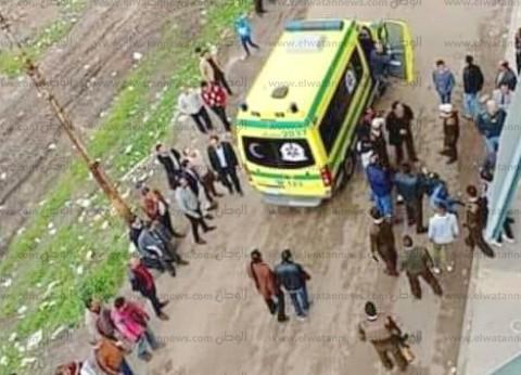 دفن جثمان متهم بحيازة مخدرات قفز من شرفة نيابة مطوبس في كفر الشيخ
