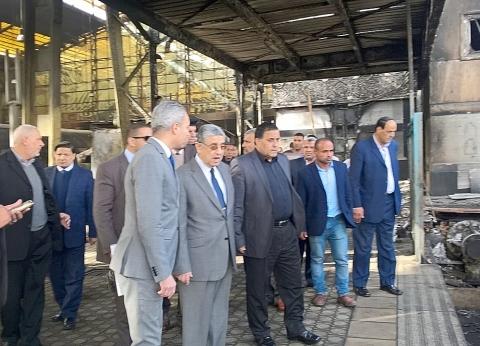 بالصور  شاكر خلال تفقده محطة مصر: لن نتهاون مع أي مقصر