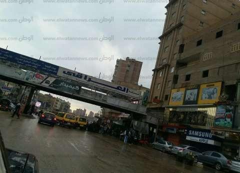 بالصور  أمطار غزيرة تُغرق شوارع الغربية ورفع الطوارئ