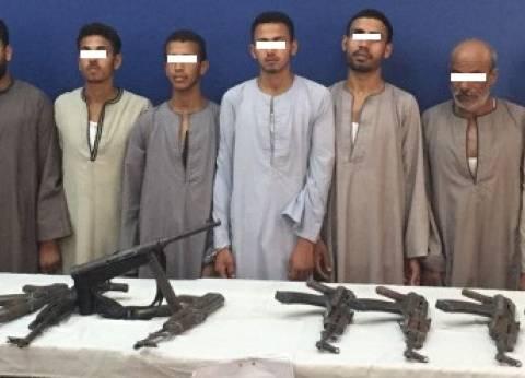 ضبط 474 قطعة سلاح ناري خلال 10 أيام في حملات بأسيوط