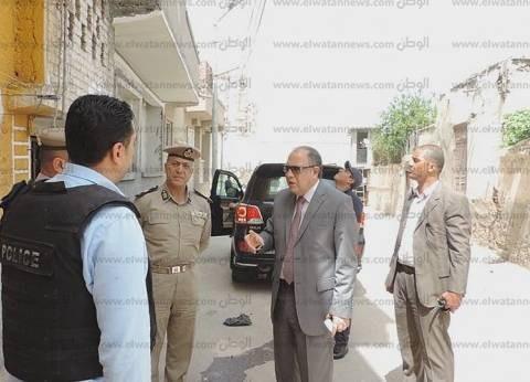 بالصور| مدير أمن كفر الشيخ يتفقد عددا من الخدمات الأمنية على الطرق