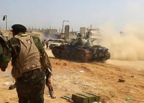 سلاح الجو الليبي يعلن سيادته على المنطقة الغربية بالكامل