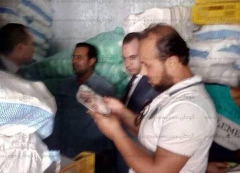 بالصور  ضبط طني لحوم سمان ورومي فاسدين في كفر الشيخ