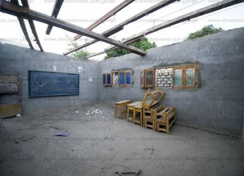 جزيرتا «الحمودى» و«العبل»: الدراسة داخل فصول عشوائية.. ومبانٍ تحولت إلى حظائر مواشٍ