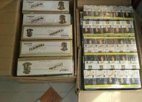 ضبط 5 من بائعي السجائر مجهولة المصدر في حملة تموينية بالمحلة الكبري