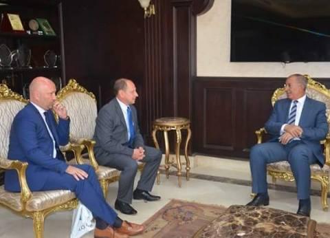 السفير السلوفاكي يبحث سبل تنشيط السياحة بين بلاده والغردقة