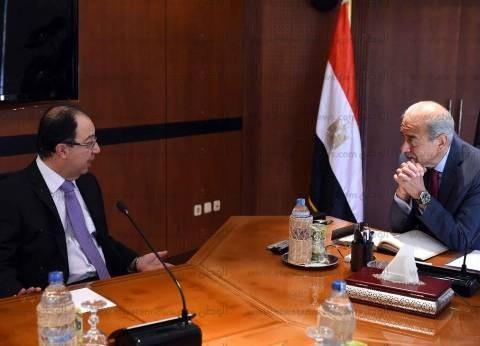 رئيس الوزراء يلتقي سفير لبنان الجديد بالقاهرة