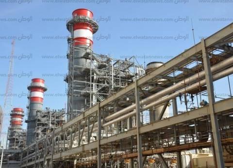 السيسي يفتتح محطة توليد الكهرباء بالإسماعيلية بعد تطويرها