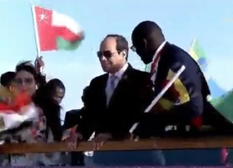 عاجل| السيسي يصل مقر انعقاد ملتقى الشباب العربي-الأفريقي