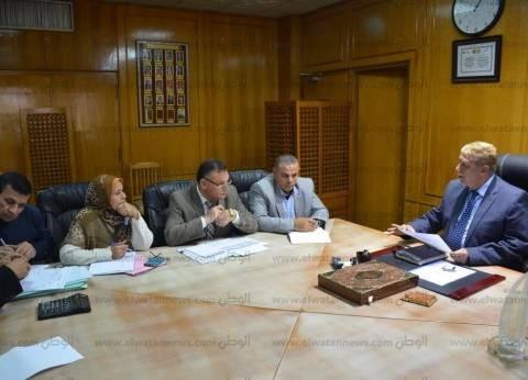 محافظ الإسماعيلية يستعرض المخطط العام لسيناريو إدارة الأزمات بالمحافظة