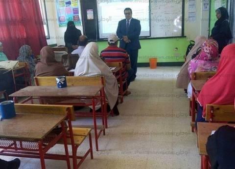 """وكيل تعليم """"جنوب سيناء"""" يتفقد قاعات تدريب برامج """"أكسل وأمن الوثائق"""""""