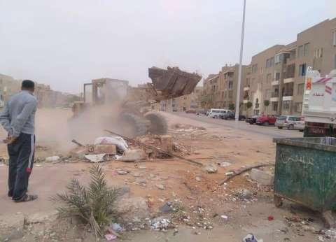 القاهرة تواجه المخالفات بـ500 إزالة إدارية و150 محضر إشغال وبيئة
