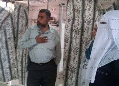 مدير الرعاية الحرجة يتفقد مستشفى منيا القمح المركزي
