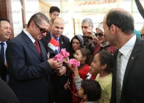 بالصور| محافظ كفر الشيخ يتفقد عددا من اللجان الانتخابية بـ4 مراكز