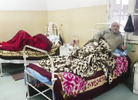 النفايات الطبية تحاصر عنابر المرضى فى «مستشفى الصدرية» بالغربية