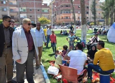 """""""صحة الإسكندرية"""" تستعد لشم النسيم برش الحدائق ورفع الطوارئ"""